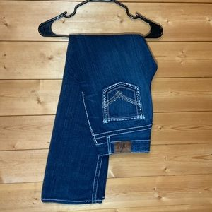 BKE culture boot cut jeans with crystals SZ 29R